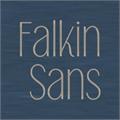 Illustration of font Falkin Sans PERSONAL