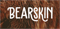 Illustration of font Bearskin DEMO