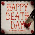 Illustration of font Happy Death Day