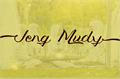 Illustration of font Jengmudy