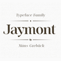 Illustration of font Jaymont PERSONAL
