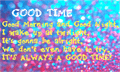 Illustration of font GoodTime