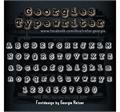 Illustration of font Georgies_Typewriter