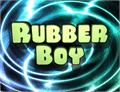 Illustration of font Rubber Boy