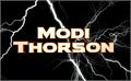 Illustration of font Modi Thorson