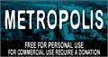 Illustration of font CF Metropolis