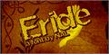 Illustration of font Eride