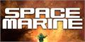 Illustration of font Space Marine