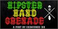 Illustration of font Hipster Hand Grenade