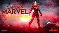 Illustration of font CaptainMarvel