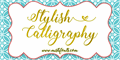 Illustration of font Stylish Calligraphy Demo