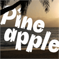 Illustration of font Pineapple Demo