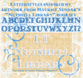 Illustration of font LT Nutshell Library