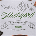Illustration of font Stackyard PERSONAL USE