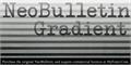 Illustration of font NeoBulletin Gradient