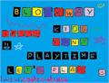 Illustration of font Blockway