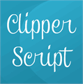 Illustration of font Clipper Script
