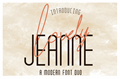 Illustration of font Lovely Jeanne Sans