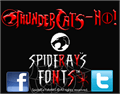 Illustration of font ThunderCats-Ho!