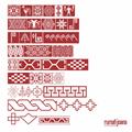 Illustration of font Ikatan