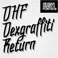 Illustration of font DHF Dexgraffiti Return