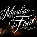 Illustration of font Mardian Demo