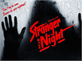 Illustration of font Stranger back in the Night