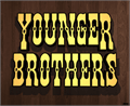 Illustration of font Younger Brothers