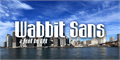 Illustration of font Wabbit Sans