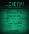 Illustration of font Juiz de Fora
