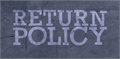 Illustration of font Return Policy DEMO