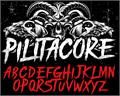 Illustration of font PILITACORE DEMO