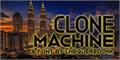 Illustration of font Clone Machine
