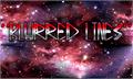 Illustration of font Blurred Lines