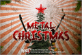 Illustration of font Metal Christmas Personal USE