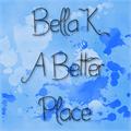 Illustration of font Bella K. A Better Place