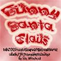 Illustration of font Funny Santa Claus