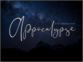 Illustration of font Appocalypse