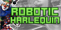 Illustration of font Robotic Harlequin