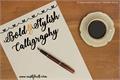 Illustration of font Bold  Stylish Calligraphy