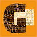 Illustration of font Digitalt