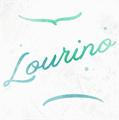 Illustration of font Lourino PERSONAL USE ONLY