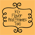 Illustration of font KG Flavor And Frames Two