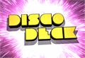 Illustration of font Disco Deck