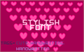 Illustration of font Stylish II