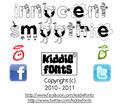 Illustration of font Innocent Smoothie