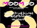 Illustration of font MooMoo