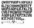 Illustration of font Paul Loving