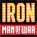 Illustration of font IRON MAN OF WAR
