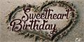 Illustration of font Sweetheart Birthday